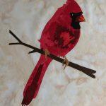 Scarlet Cardinal Fusible Applique Kit