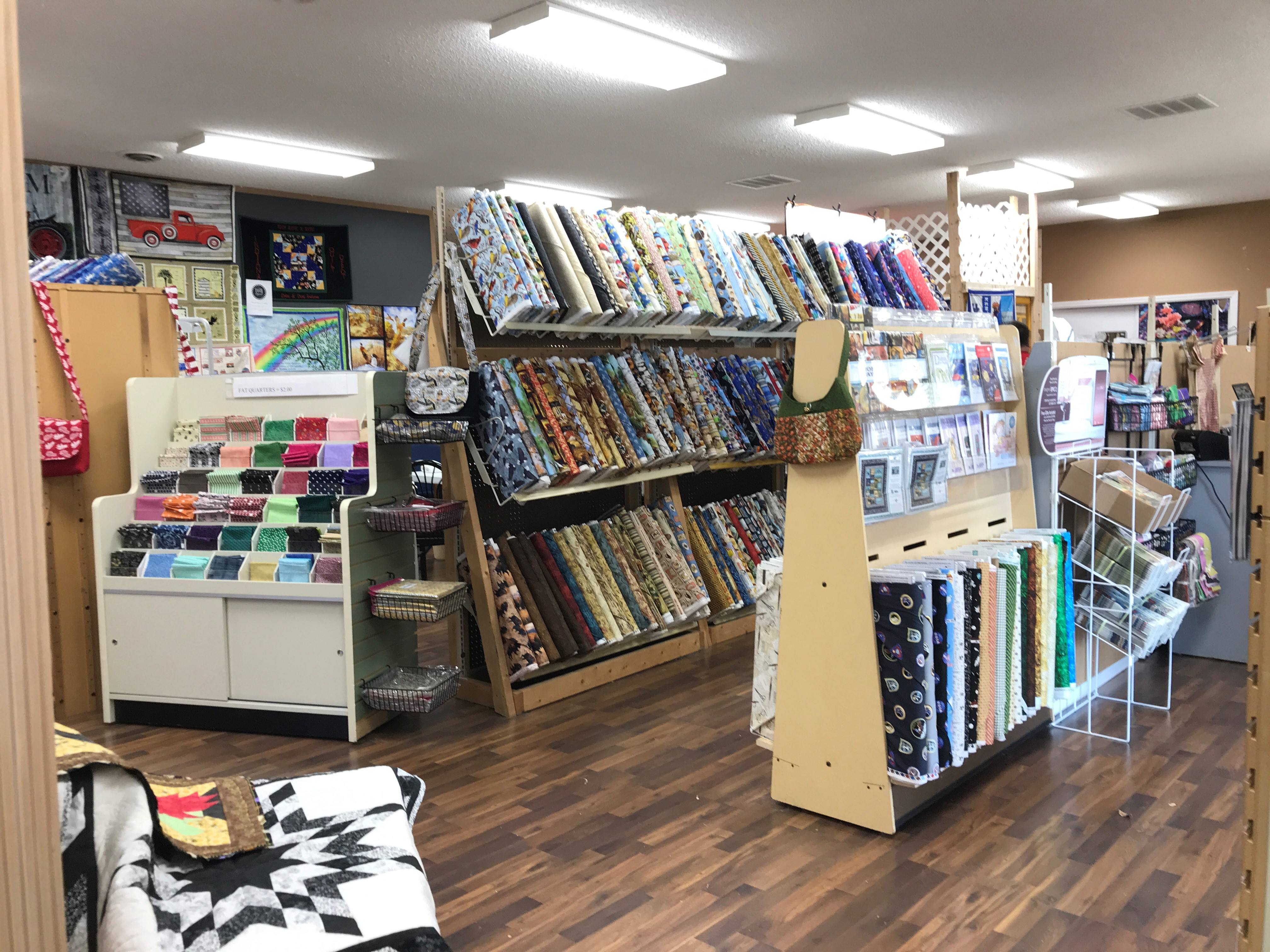 Indiana Quilt Depot has a great selection.