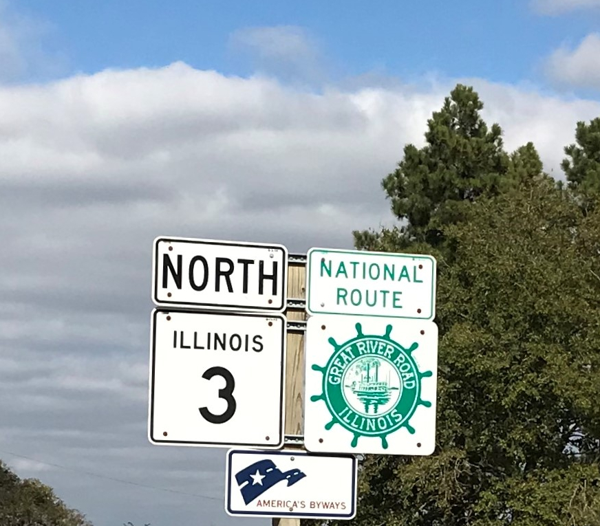Great River Road, Illinois