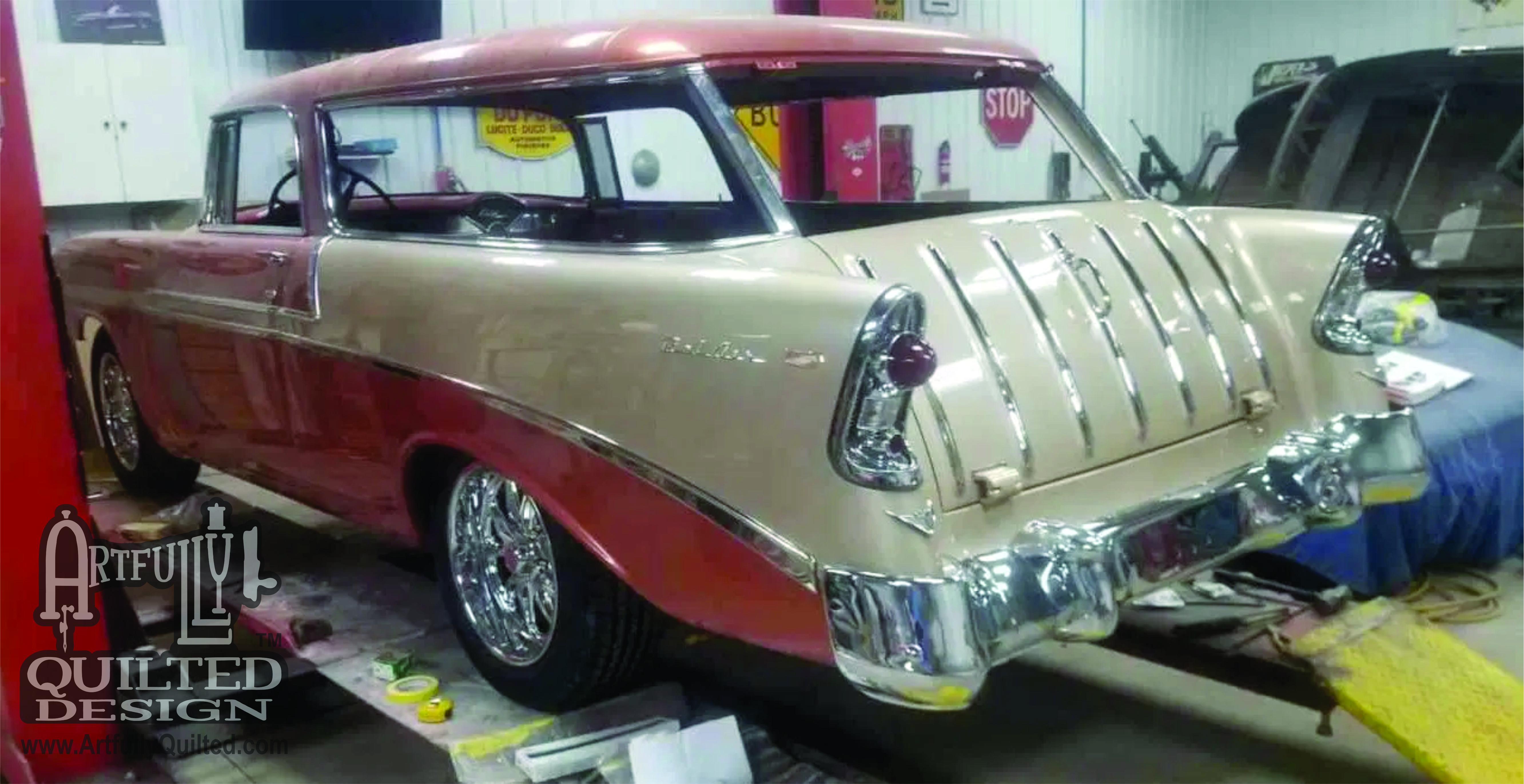 1956 Chevrolet Nomad Bel Air After Bill's Magic.