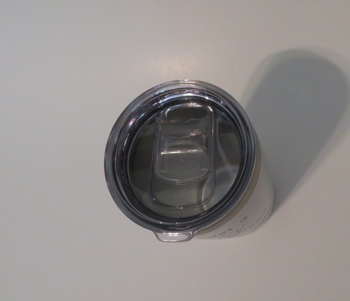 20 oz Travel Mug/Tumbler slider lid